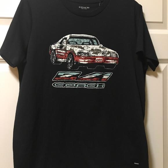 Coach 100% Cotton Z-41 T-Shirt with Sequins Retro 27d351eacfc